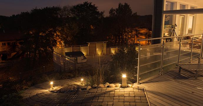 Helt nya Trädgårdsbelysning   Heda MO-11
